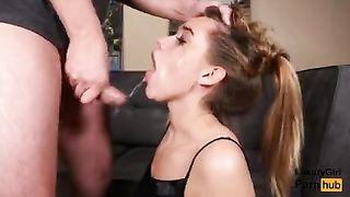 Порно Ебля Глотка
